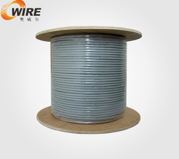 Cat6 double shielded net